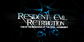 Resident Evil Retribution 3D Title Wallpaper in HD