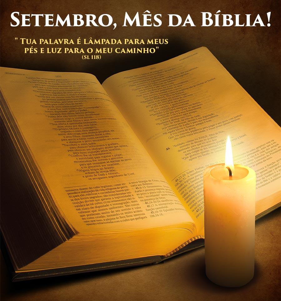 Setembro, mês da Bíblia!