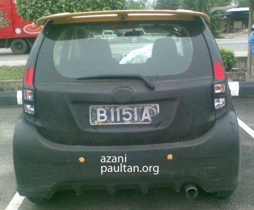 perodua myvi 2011 model. Perodua Myvi Baru 2011