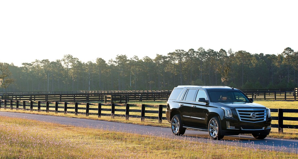 2015 Cadillac Escalade black