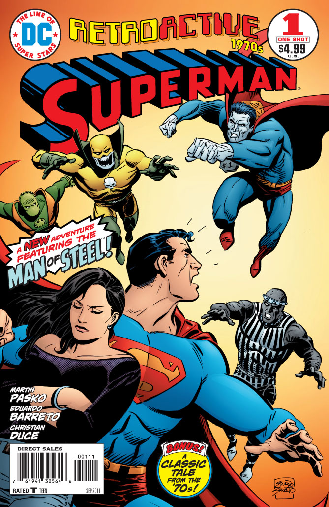 Supergirl Comic Box Commentary: Review DC Retroactive ...