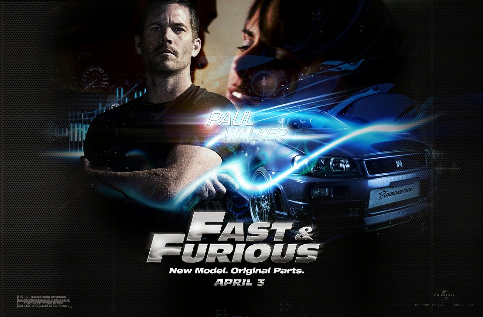 Paul Walker Fast And Furious Wallpaper Hd