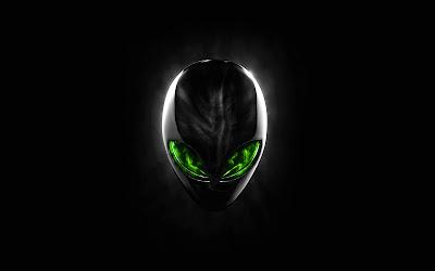 Alienware Green Eyes Wide Screens Wallpapers