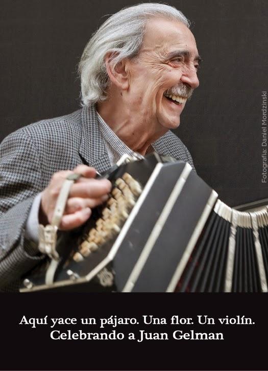 Homenaje al poeta Juan Gelman en el Teatro de la Ciudad Esperanza Iris