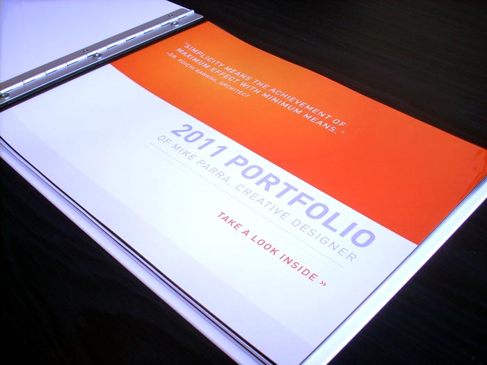 Graphic Design Print Portfolio Book Examples The Portfolio Not Just