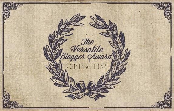 Imagen del premio The Versatile BLogger Award.