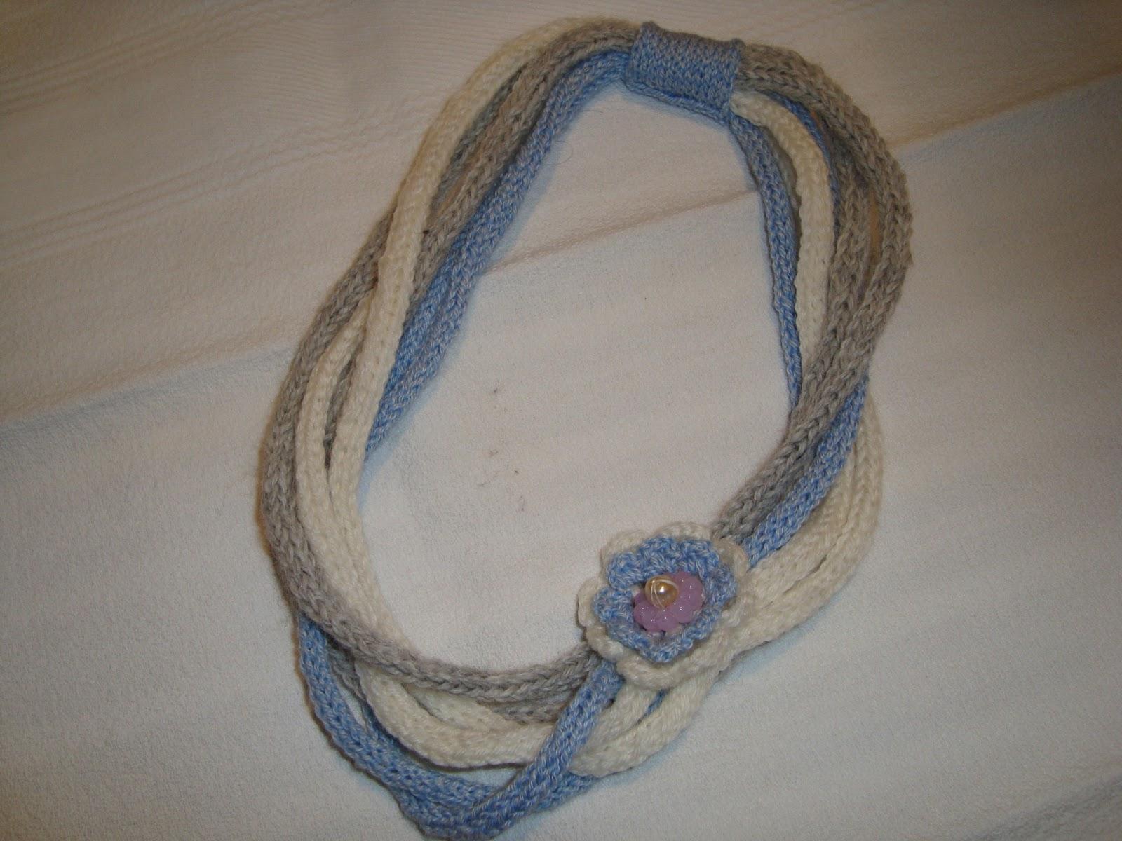 Estremamente Le creazioni Di Grazia: collane di lana HW59