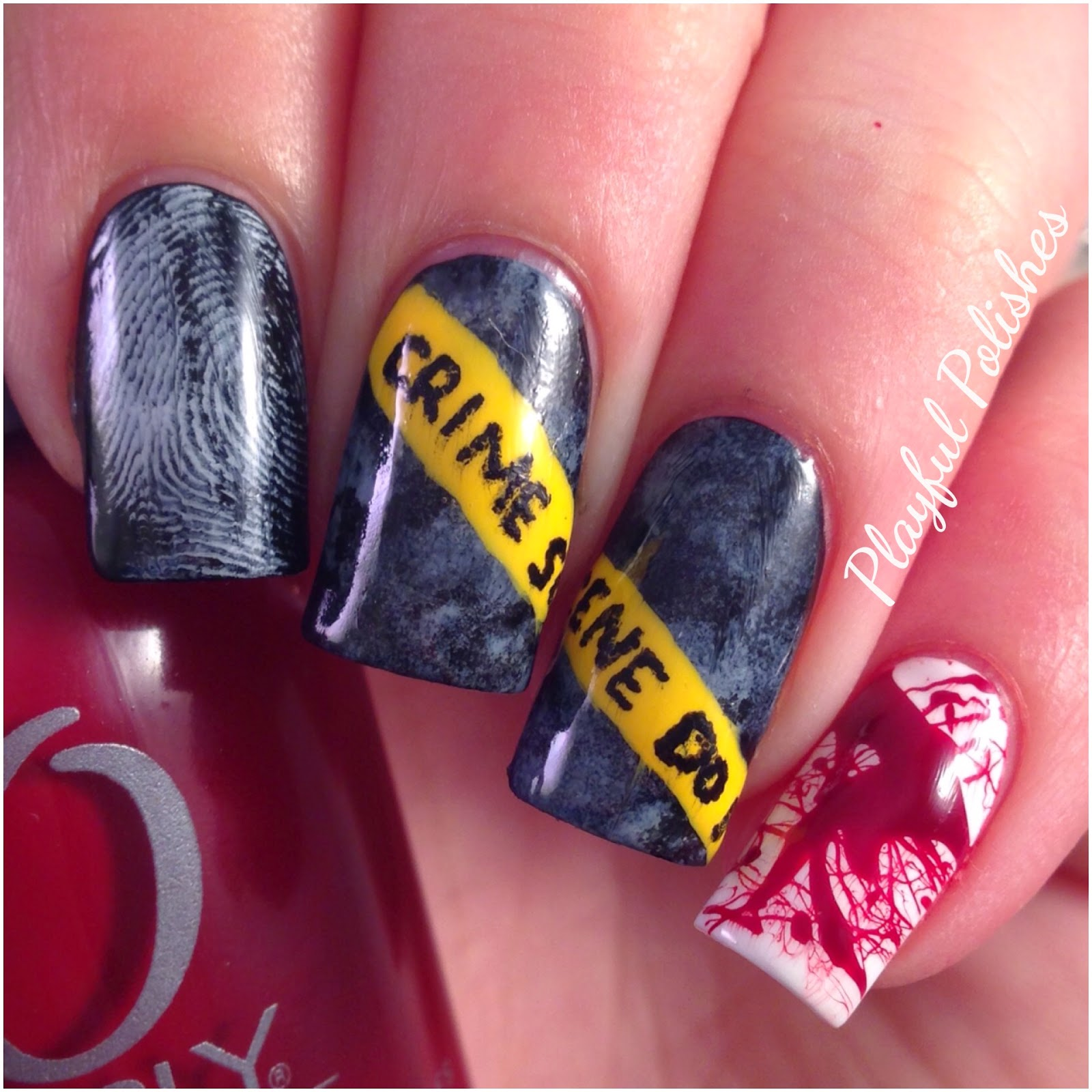 Playful Polishes: HALLOWEEN NAILS