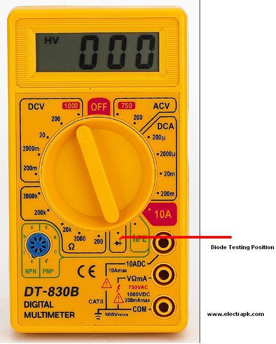 мультиметр инструкция dt 830в