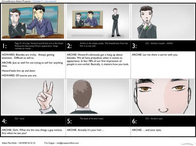 Free download storyboard in word format doc and docx