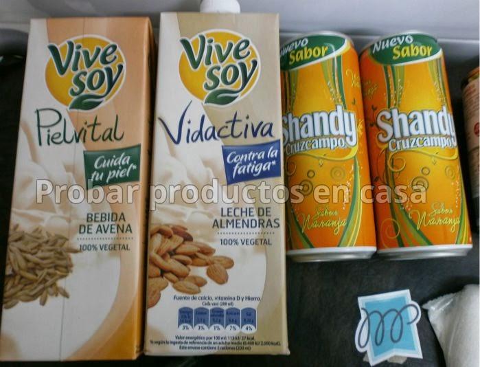 Muestras Premium Marzo: Vivesoy, Shandy