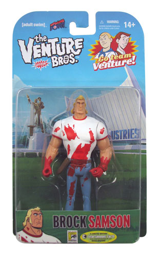 Sgt The Venture Bros Hatred 8-Inch Action Figure