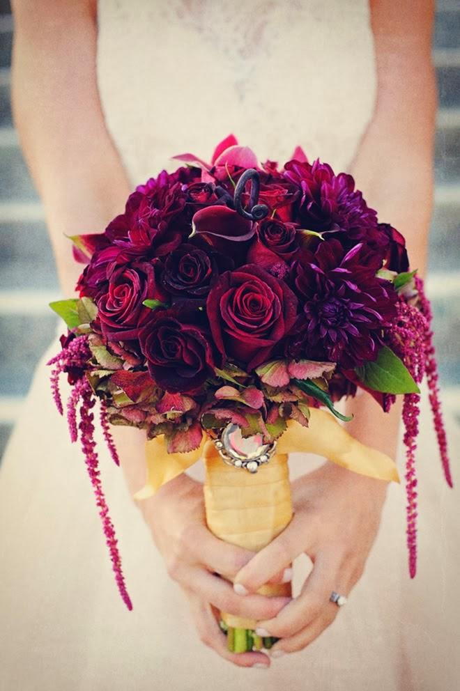 Best Red Wedding Bouquets : Best wedding bouquets of belle the magazine