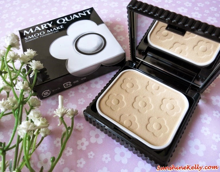 Mary Quant Smoo Make Powder Foundation Review, Mary Quant, Smoo Make, Powder Foundation, Makeup