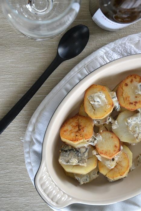 patate americane dolci con zola di capra