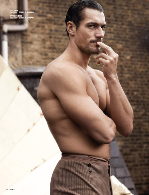 David Gandy by Paul Wetherell for 10 Men Magazine-2