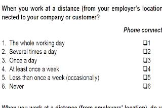 imagen de un cuestionario