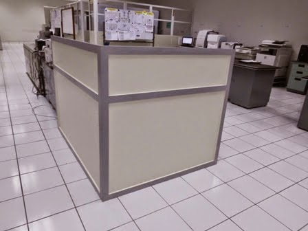 Cubicle Workstation L Shape