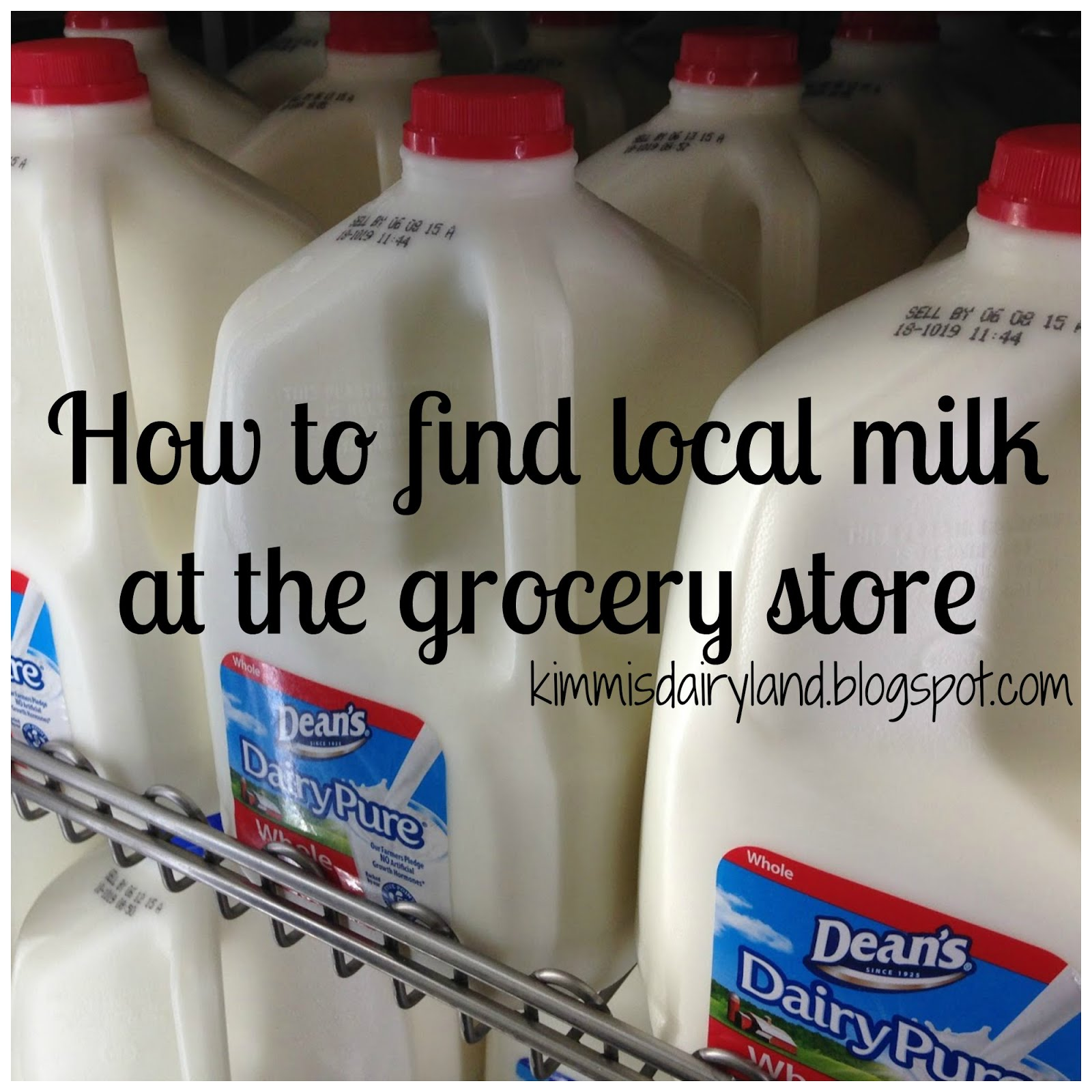How do I know if my milk is local?
