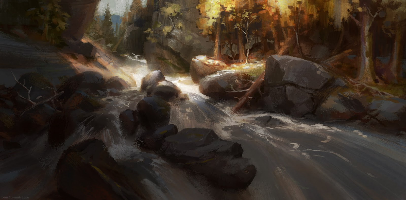 River by Lane Brown