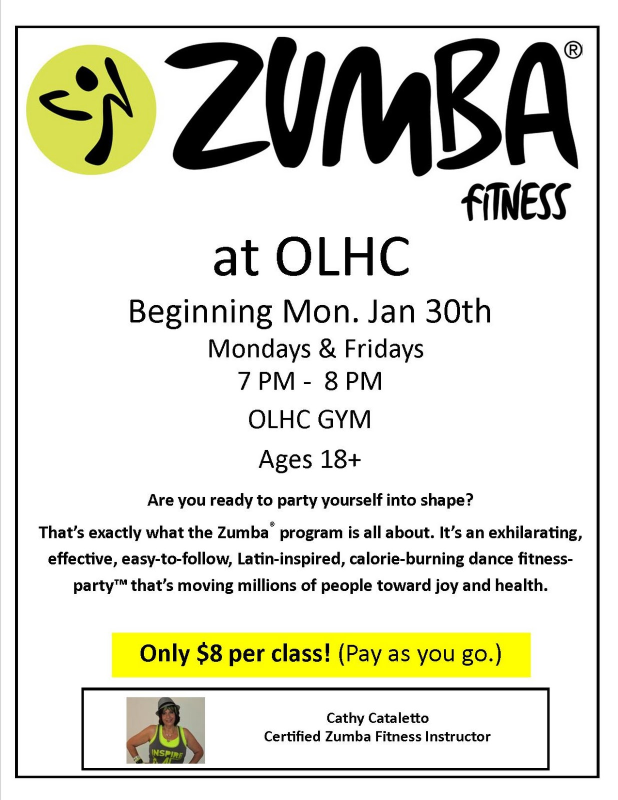 Funny Quotes Contact Dmca   Zumba Class Flyer