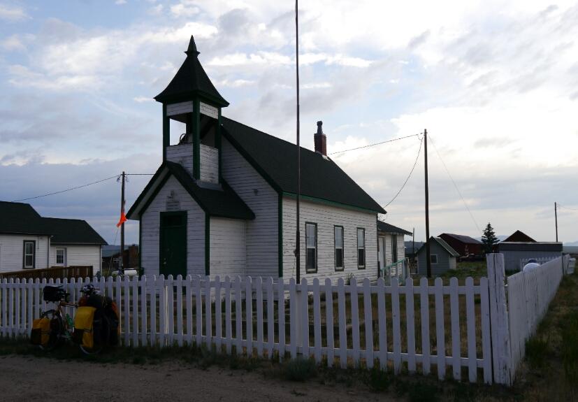 Hartsel schoolhouse