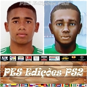 Gabriel Jesus (Palmeiras) PES PS2