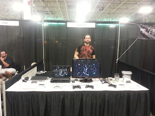 NF Booth at TMG 2013
