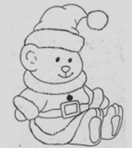Ursinho Carinhoso - Ursinhos Carinhosos - Desenhos para colorir