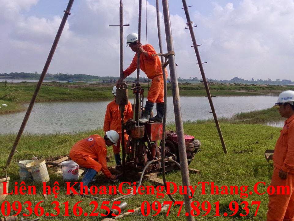 Khoan giếng tại Sóc Sơn Hà Nội