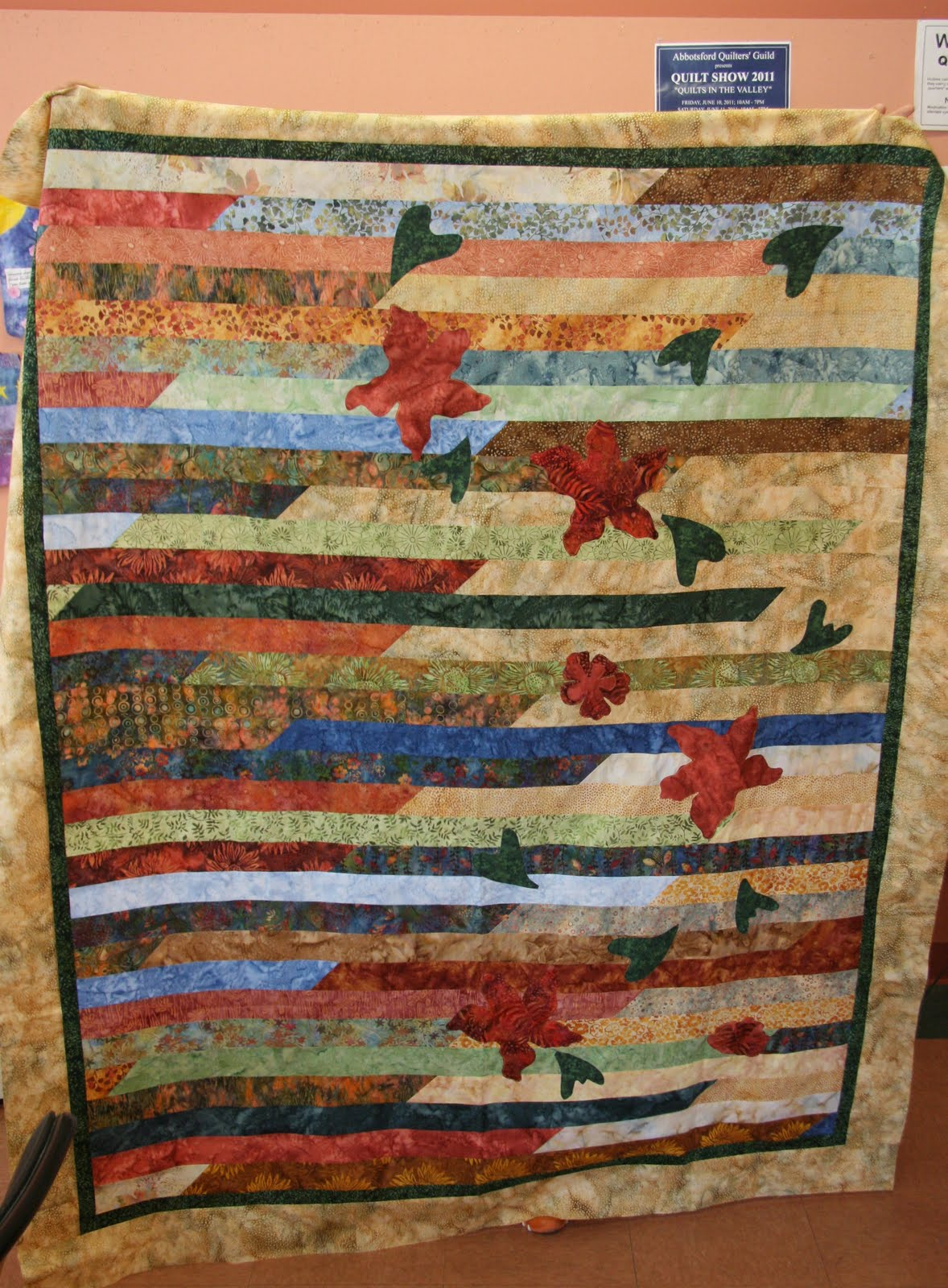 Quilt Pattern Jelly Roll Race : Linda s Quiltmania: Jelly Roll Race Quilts