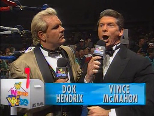 WWF / WWE - In Your House 1 - Commentators for the evening were Vince McMahon and Doc Hendrix
