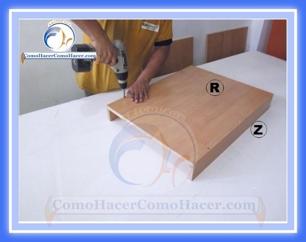 Hacer muebles de cocina good como armar un modulo base de for Donde aprender hacer muebles melamina