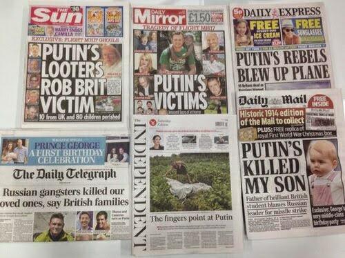 Chiến dịch bôi nhọ Putin trên báo chí phương Tây