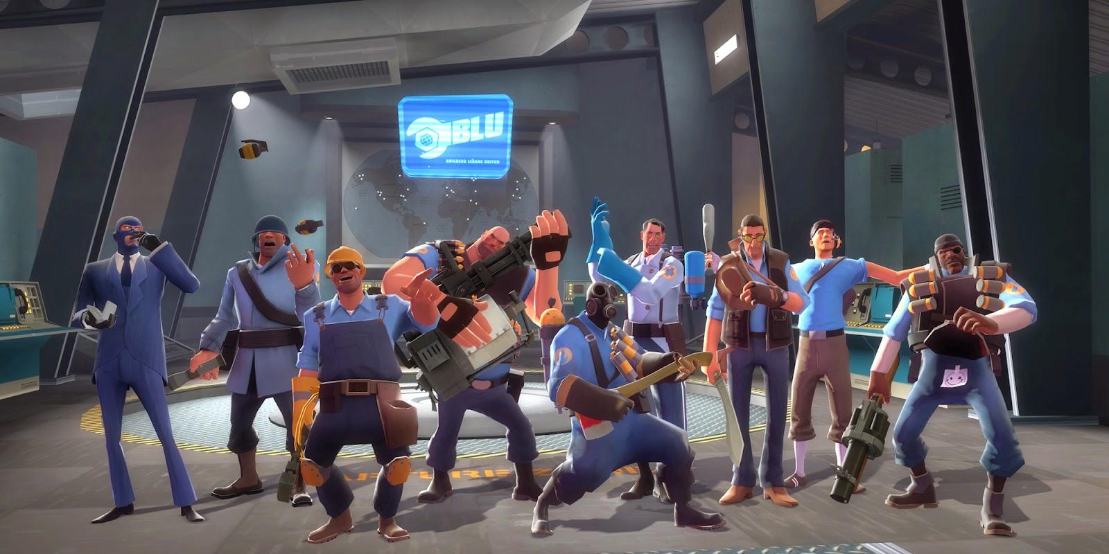 Team Fortress 2, uno de los juegos online más jugados