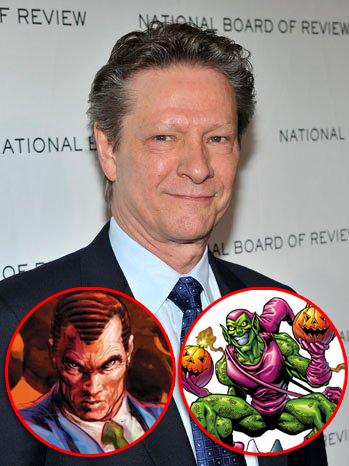 "Chris Cooper sera Norman Osborn / El duende verde en ""The Amazing Spider-man 2"