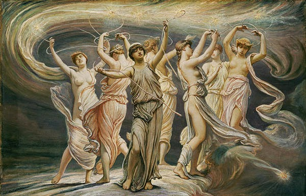 Tujuh Putri Atlas, pleiades