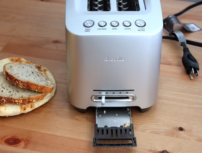 Create With Mom Breville s Die Cast Smart Toaster is Stylish and