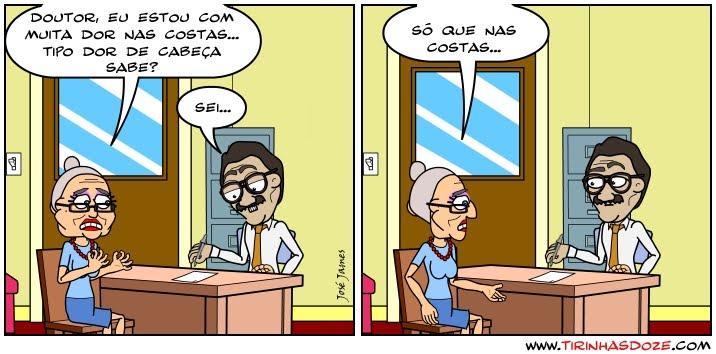 tirinhas,Dr. Roberval - O clínico geral