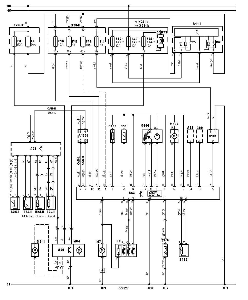 Volkswagen Ac Wiring Diagram Diagrams Jetta Air Conditioning And Engine Cooling Golf 2003 2001 Mk4