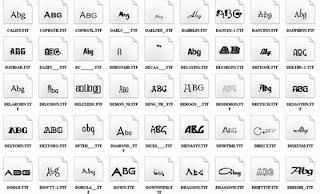 Download Font Distro Terbaru Gratis