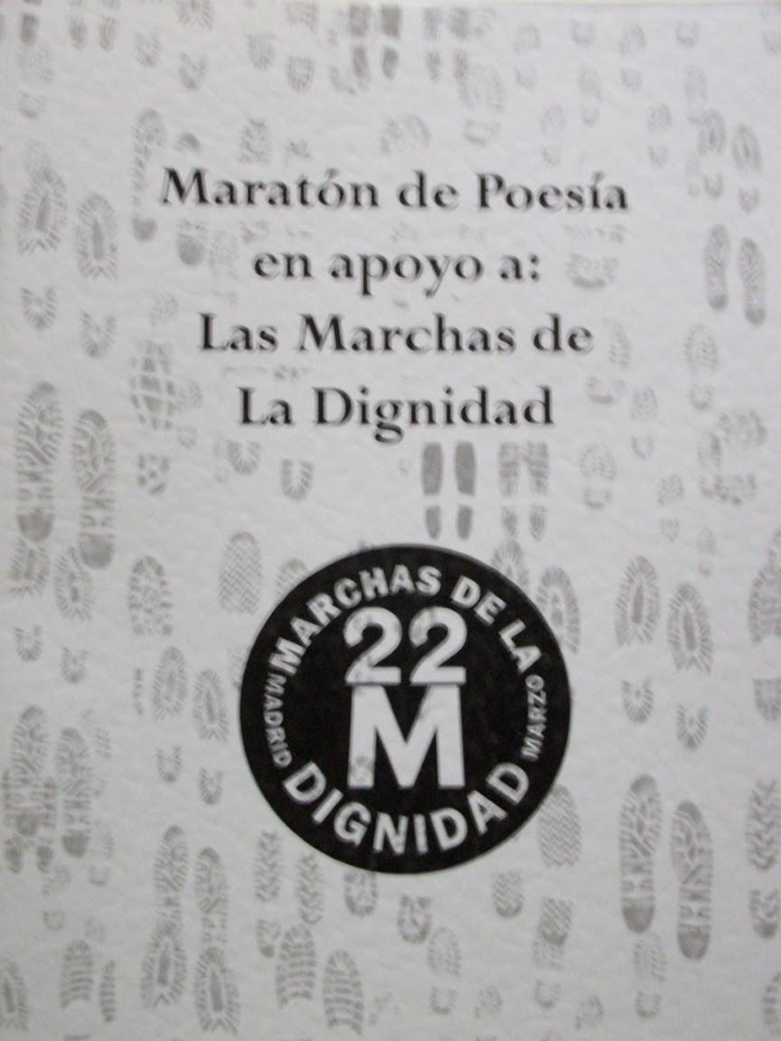 MARATÓN DE POESÍA EN APOYO A LAS MARCHAS DE LA DIGNIDAD (3 POEMAS)