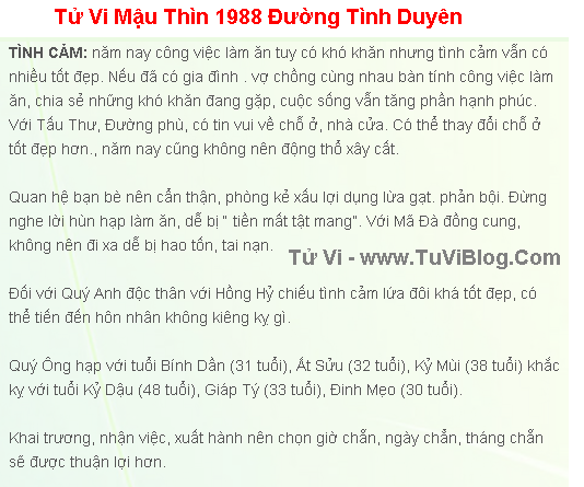 Tu Vi 2016 Mau Thin Nam Mang