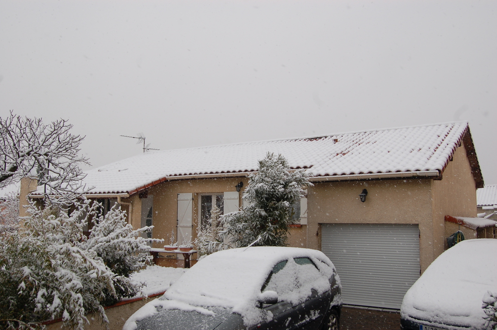 Agrandissement d 39 une maison par le haut neige for Agrandissement maison par le haut