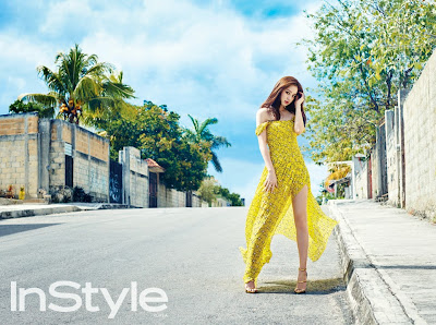 Kim Tae Hee - InStyle Magazine April Issue 2015