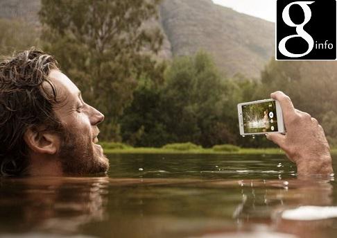 Review Sony Xperia M4 Aqua Dual,Smartphone Android yang bisa anda gunakan untuk  selfie didalam Air