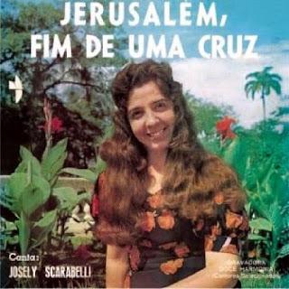 Josely Scarabelli Jerusalem fim de uma Cruz 1974