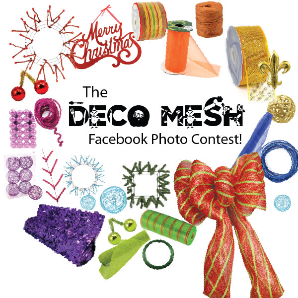 Poly Deco Mesh, Craft, Holiday, Photo Contest, Christmas, Decorations