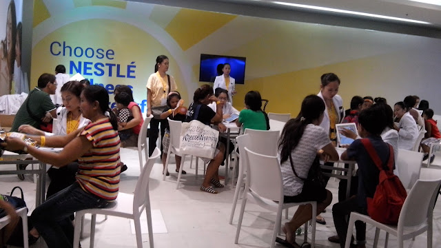 choose nestle choose wellness, expo 2015, nestle expo freebies, nestle expo nutrition consultation,