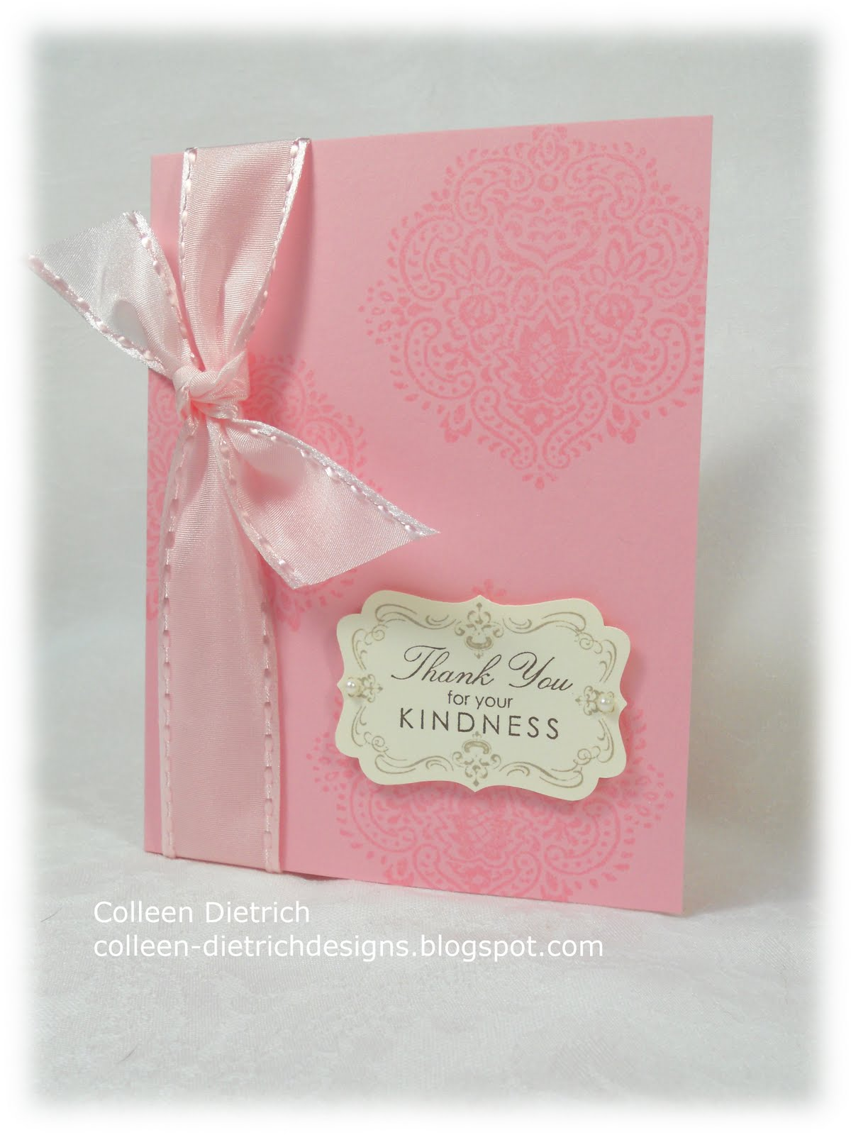 Kindness In Pink | Colleen Dietrich Designs